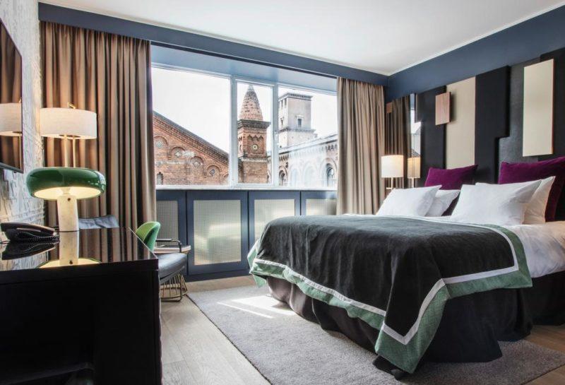 Onde ficar no centro em Copenhaga: a vista do hotel Ski Petri
