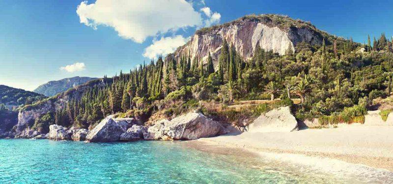 praias mais lindas de corfu