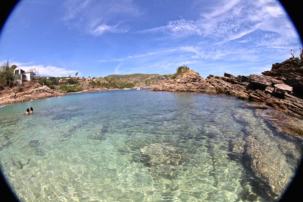 Dicas de Búzios: Praia da Ferradurinha.