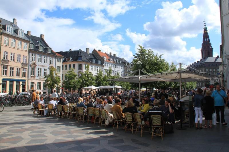 O que fazer em Copenhagem: a amargar Square, boa pedida para almoçar