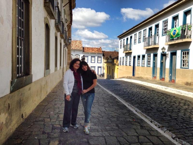 E passeando em São João Del Rey