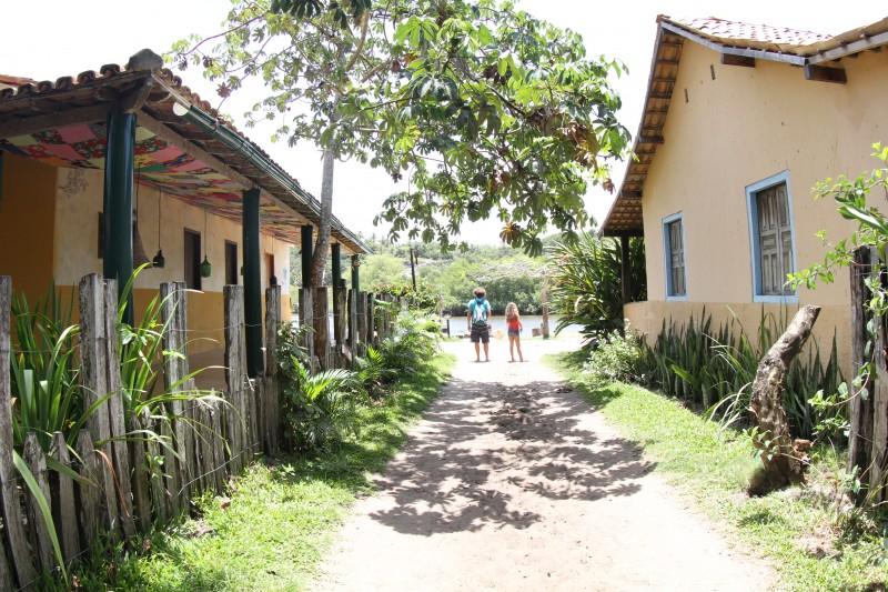 o que fazer em Caraiva: passear pelo vilarejo