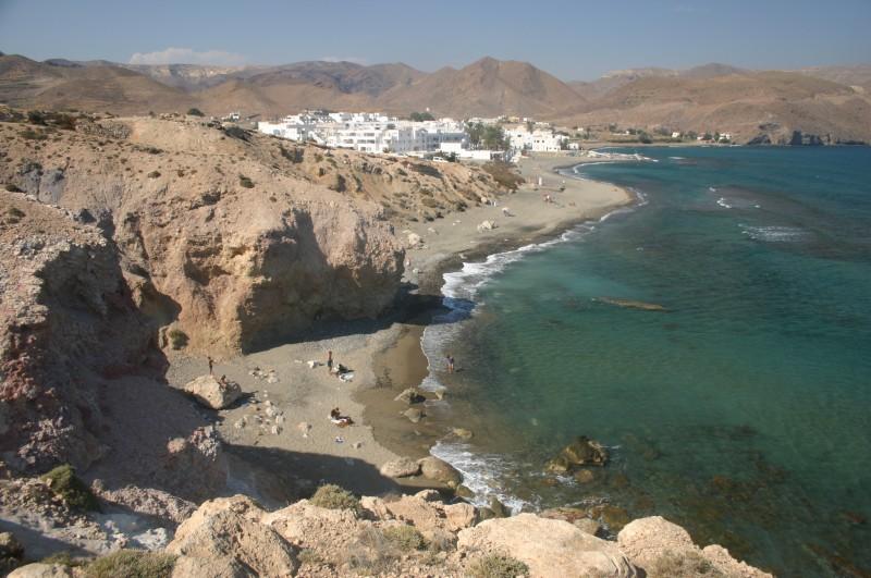 Praias mais lindas da Espanha: o pueblo de agua amarga