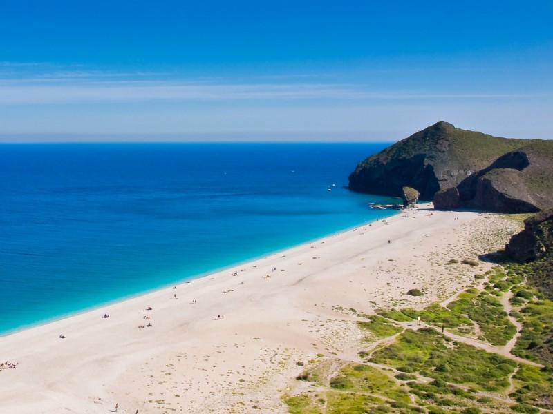 Praias mais lindas da Espanha: a playa de los muertos