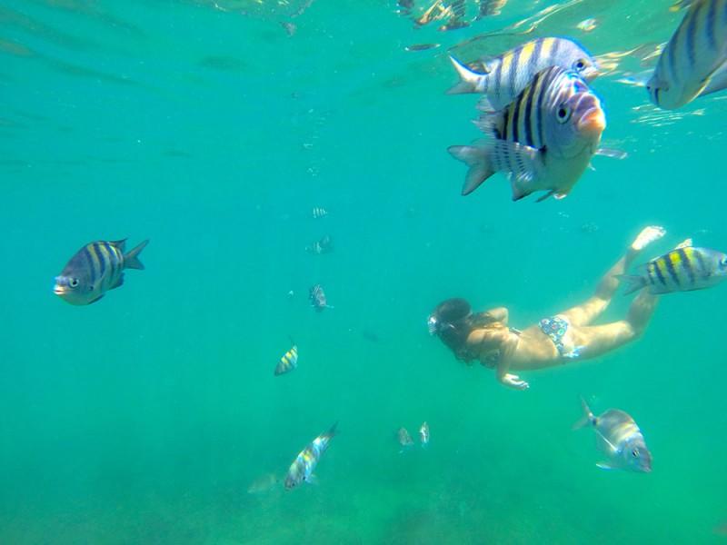 Olha a cor desse mar de Búzios!