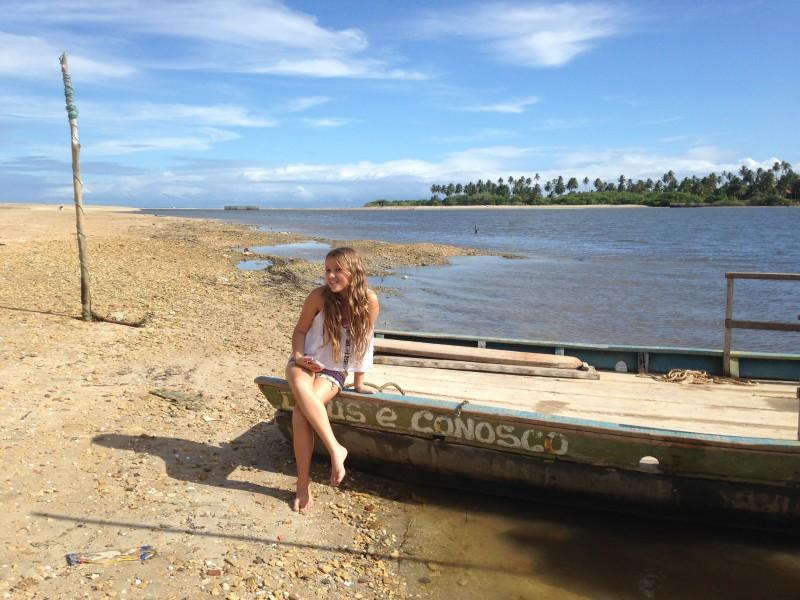 Dicas Rota ecológica de Alagoas: travessia de jangada para chegar na Praia do Morro