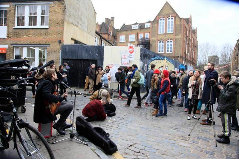 O que fazer em Londres: East London e a animação de columbia flower market