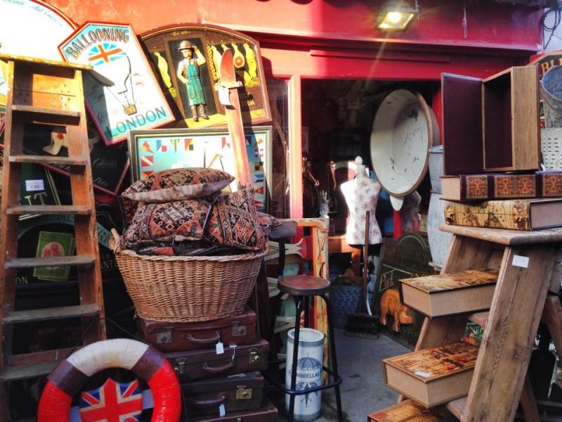 Roteiro 6 dias em Londres: portobello market