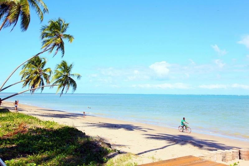 O que fazer em Alagoas: praia do Patacho, na rota ecologica