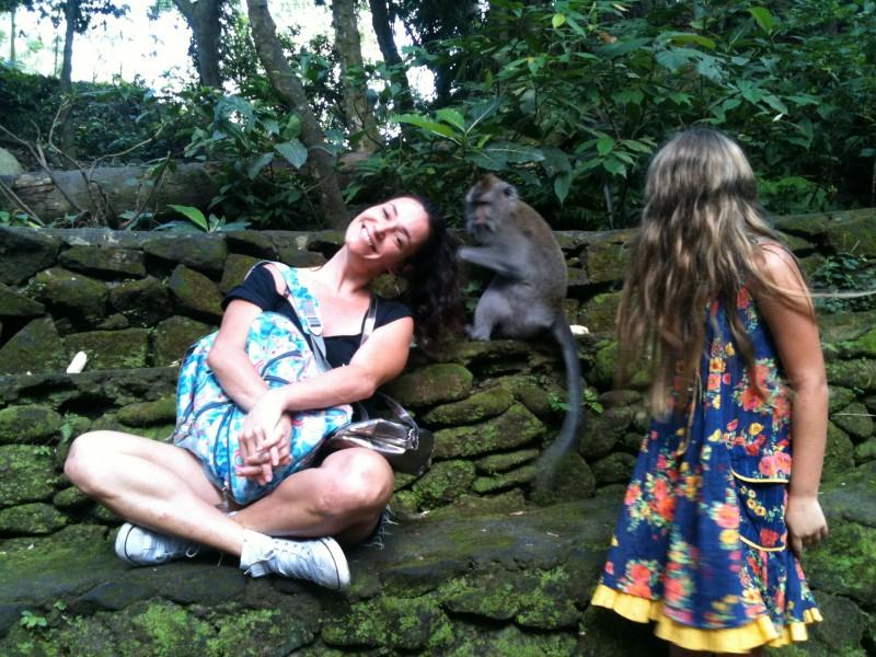 bali onde ficar ubud o que fazer templo dos macacos