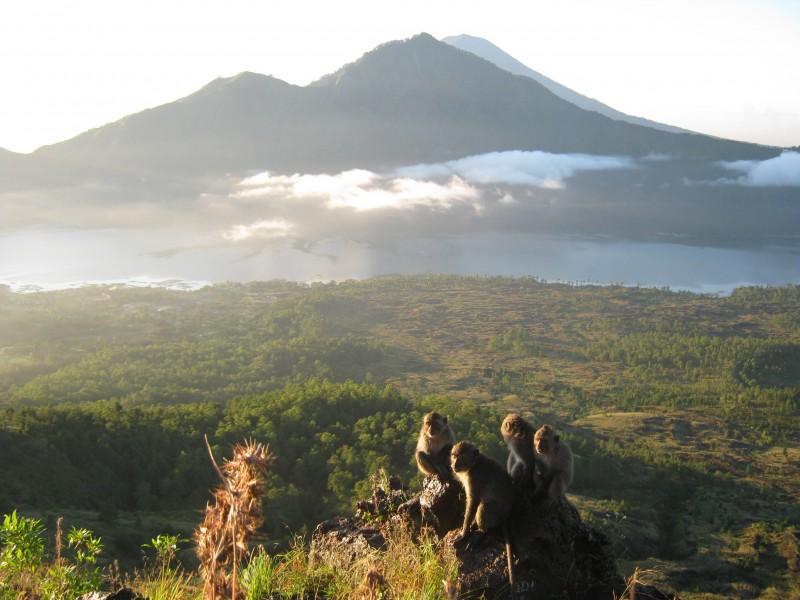 passeio para o vulcao kintamani