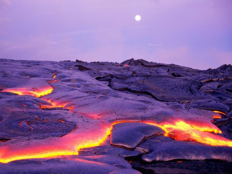 Parque Nacional dos Vulcões do Havaí, no Havaí