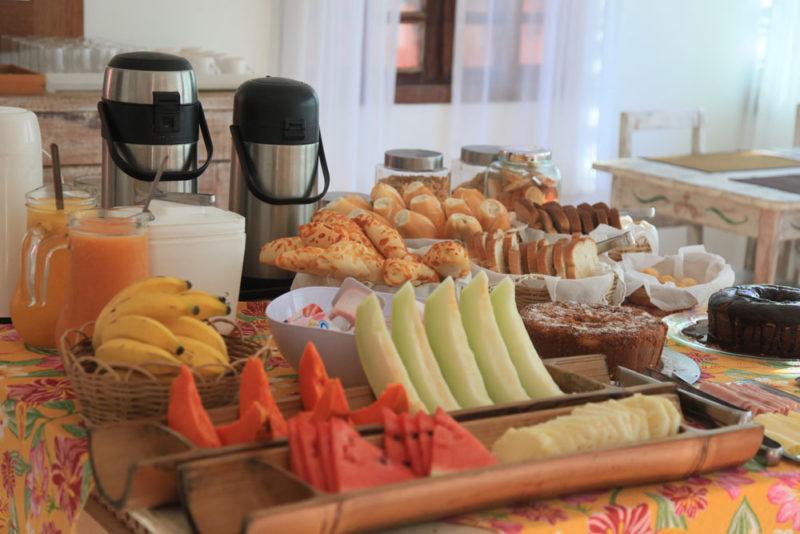 Café da manhã do Ilanga