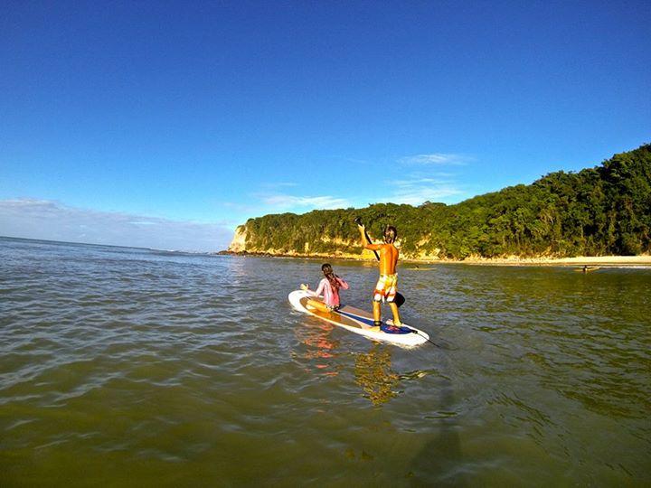 A praia do Madero, em Pipa: boa pra fazer SUP