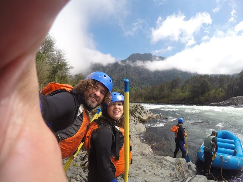 rafting pucon rio trancura