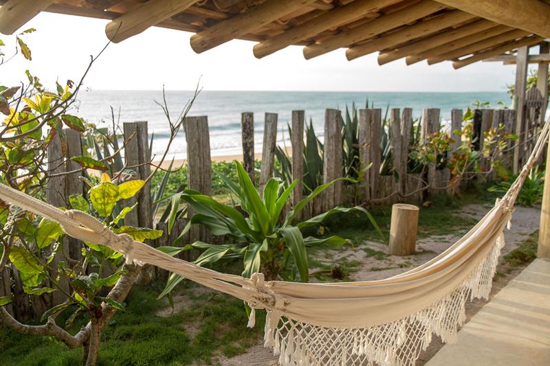 Onde ficar em Caraiva: Algumas varandas da Pousada San Antonio Praia tem vista para a praia