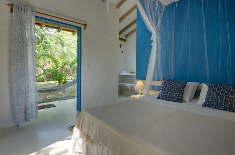 Onde ficar em Caraiva: Charme dos quartos da Pousada San Antonio Praia
