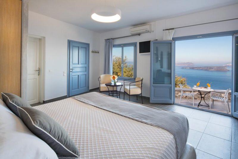 Hotel Apanemo, em Santorini