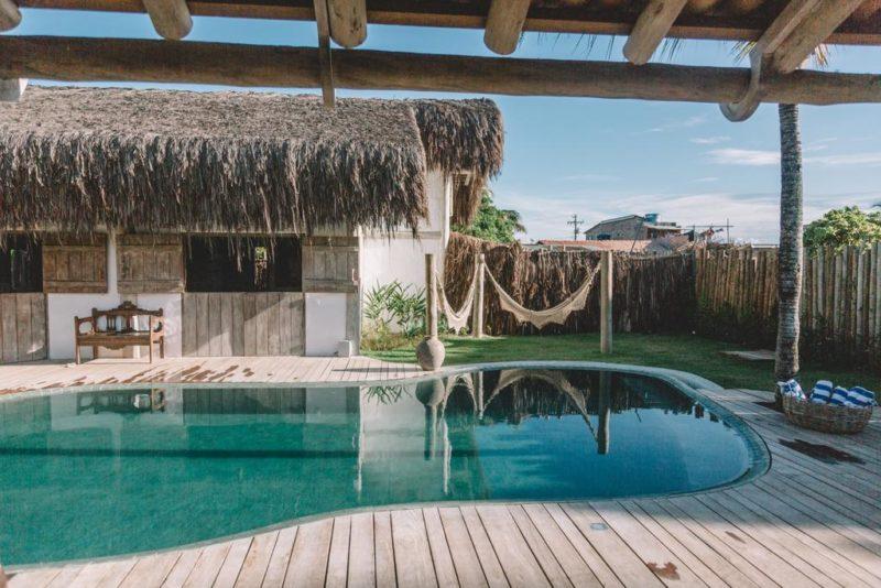 Hotéis em Caraiva: Piscina do Villa Fulô