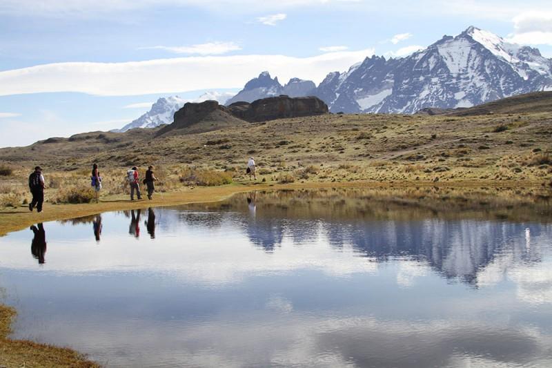 torres del paine o que fazer: hunters trail passa por paisagens lindas