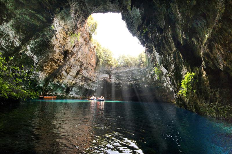 Lago MelissaniKefalonia Grécia