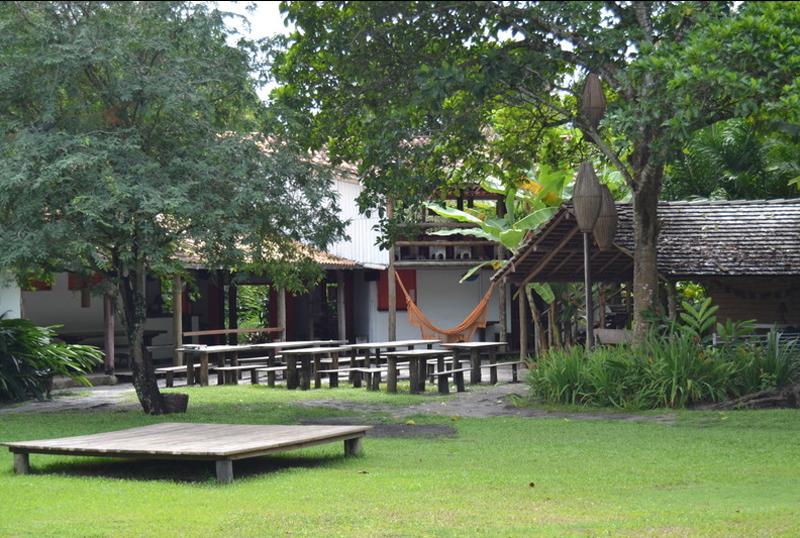 Onde ficar em Caraiva: Jardim da Pousada Lagoa