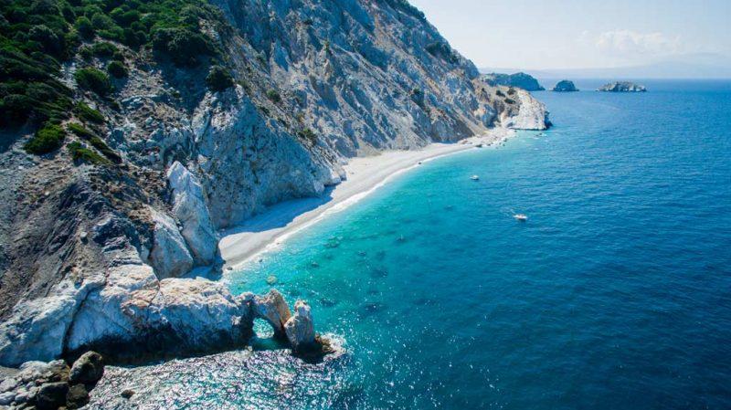 praias mais lindas do mundo Skiathos