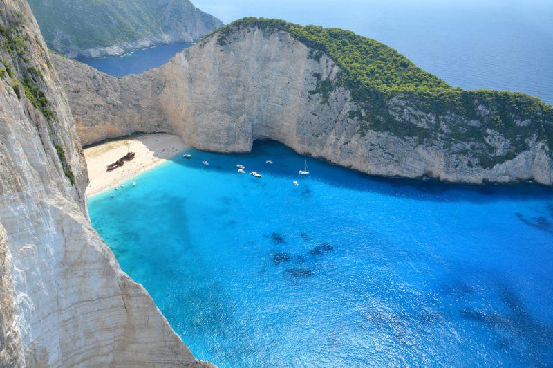 Praia de Navagio Grécia
