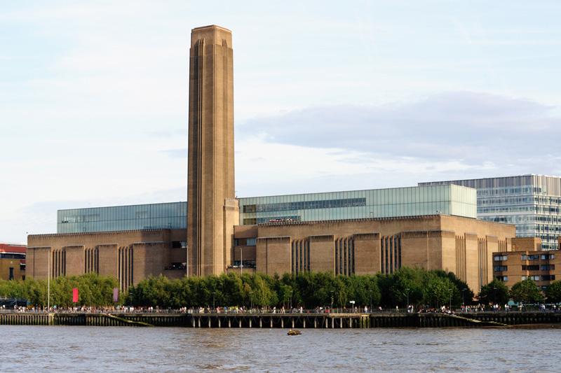 Atrações em Londres: O Prédio do Tate Modern.