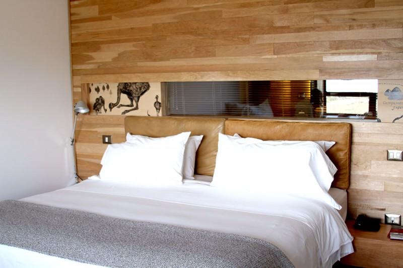 Onde ficar em Torres del Paine. os quartos do Tierra Patagonia