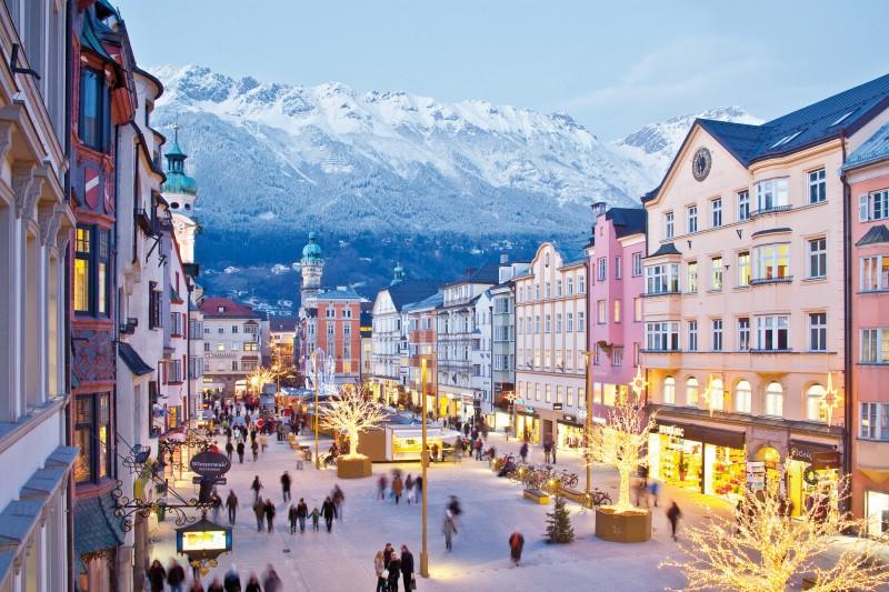 cidades mais lindas da austria Innsbruck