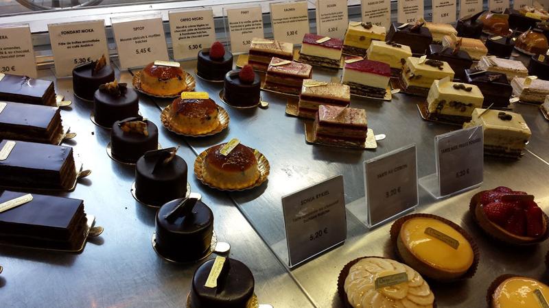 Sobremesas em Paris
