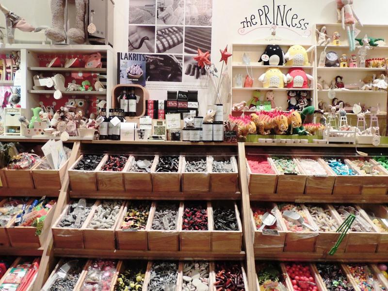 Lojas de doce em Paris