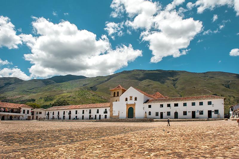 Plaza Central o Plaza Principal — Villa de Leyva, Boyacá, Col