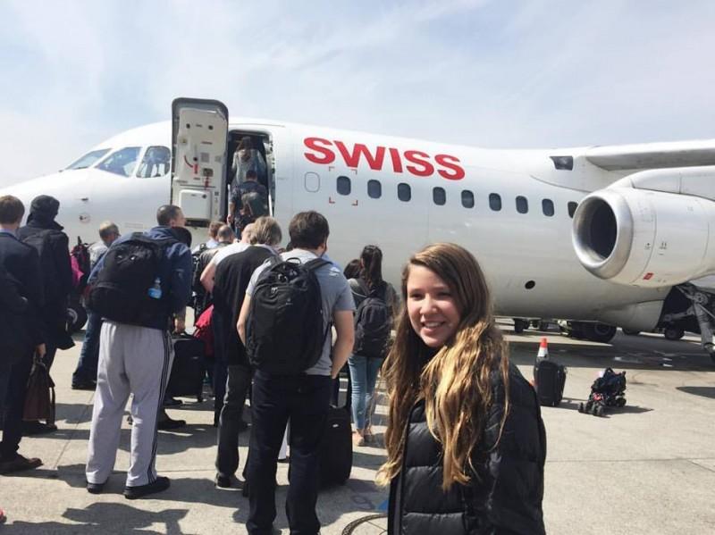 como é voar na swiss airlines classe economica