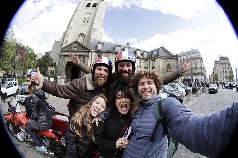 retro tour paris side car juju na trip blog viagem em famiila