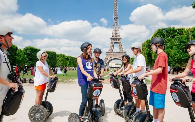 Segway tour paris com crianças paris blog de viagem em familia juju na trip