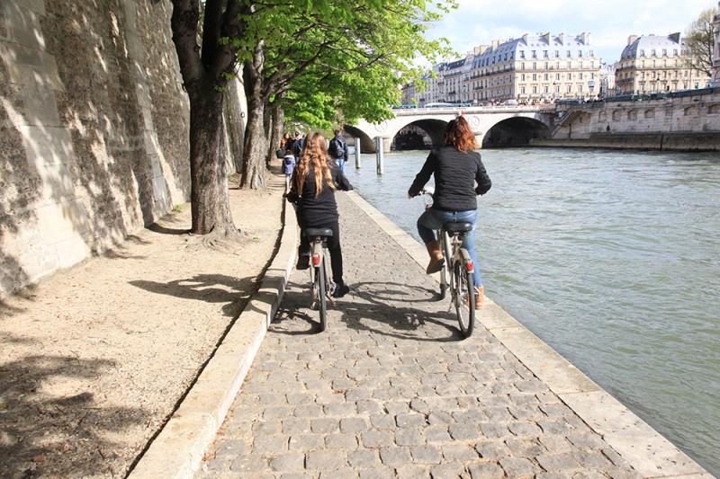 aluguel bicicleta paris