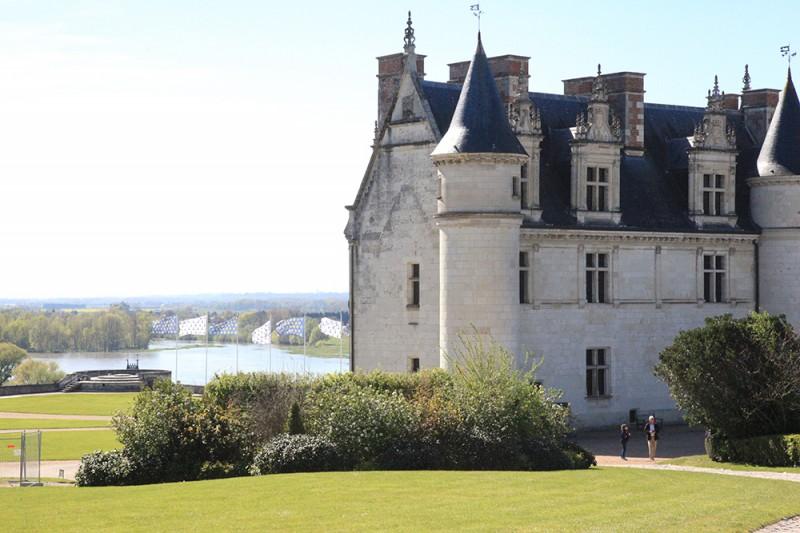 Vale do Loire com crianças