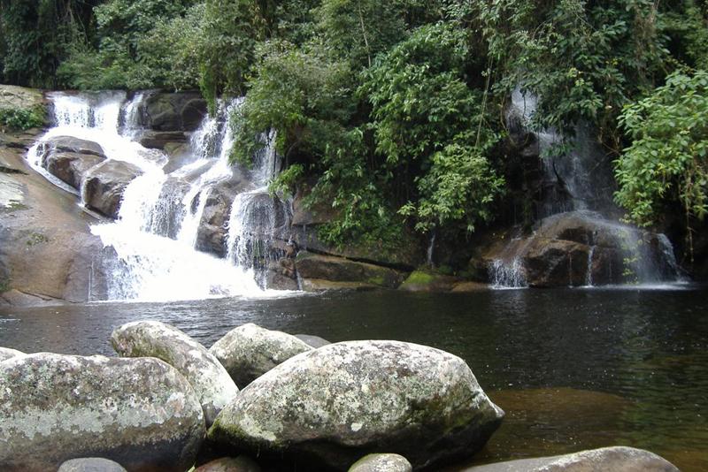cachoeiras em Cunha e Paraty