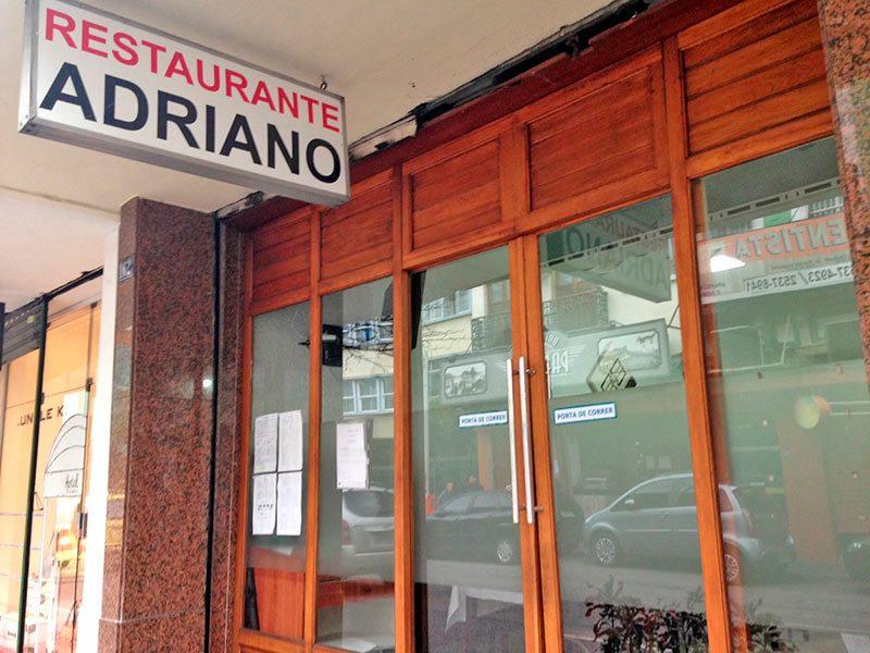 lugares para comer bem e barato no Rio de Janeiro Restaurante do Adriano