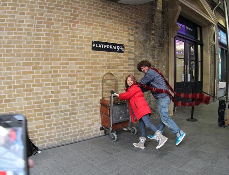 4 dias em Londres: o que fazer roteiro harry potter em londres kings cross platafomra 9 e 3/4