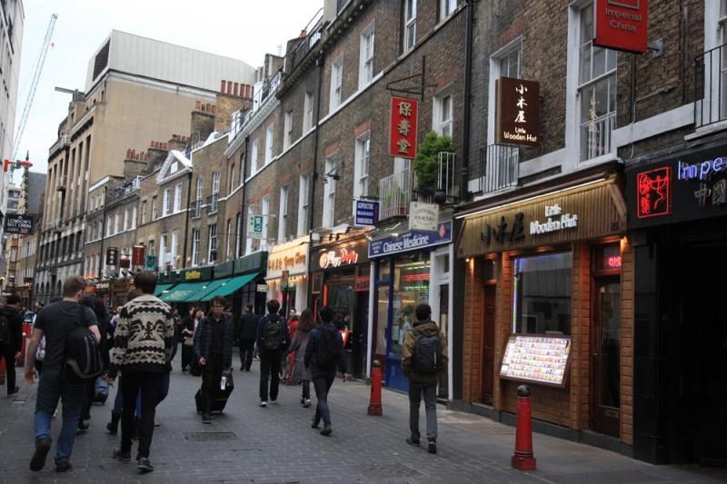 4 dias em Londres: o que fazer bairro chines