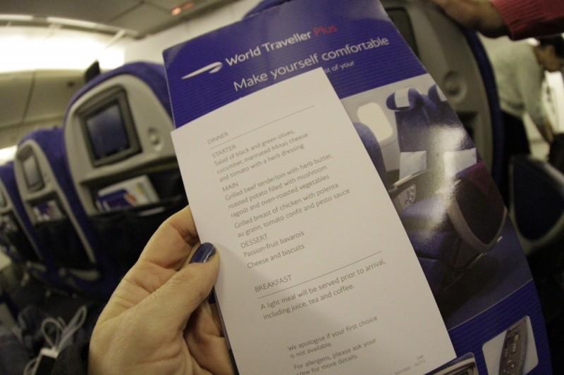 World Traveller Plus da British Airways