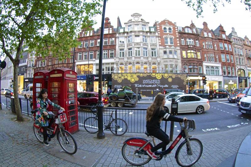 4 dias em Londres: o que fazer boris public bike