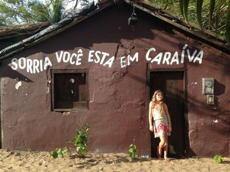 Lugares de praia para viajar em abril no Brasil: Caraíva