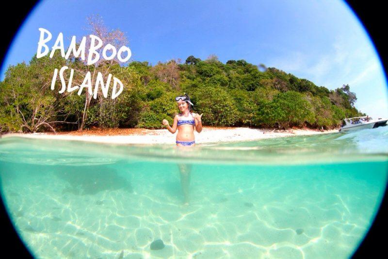 Prias mais lindas de Ko Phi Phi: Bamboo Island