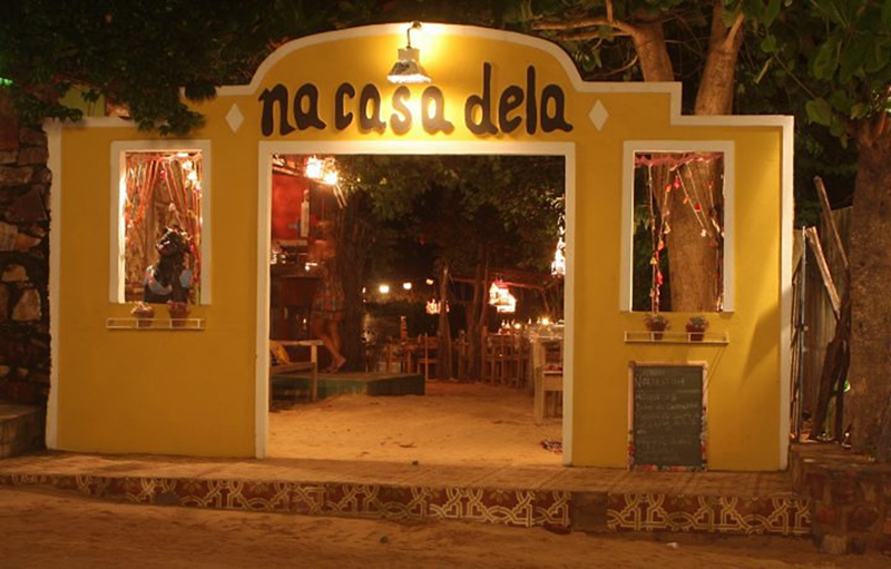 Dicas de Jericoacoara: restaurante na casa dela