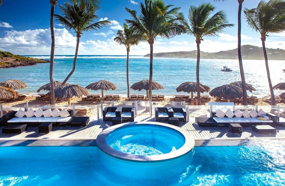 hoteis caribe le-guanahani