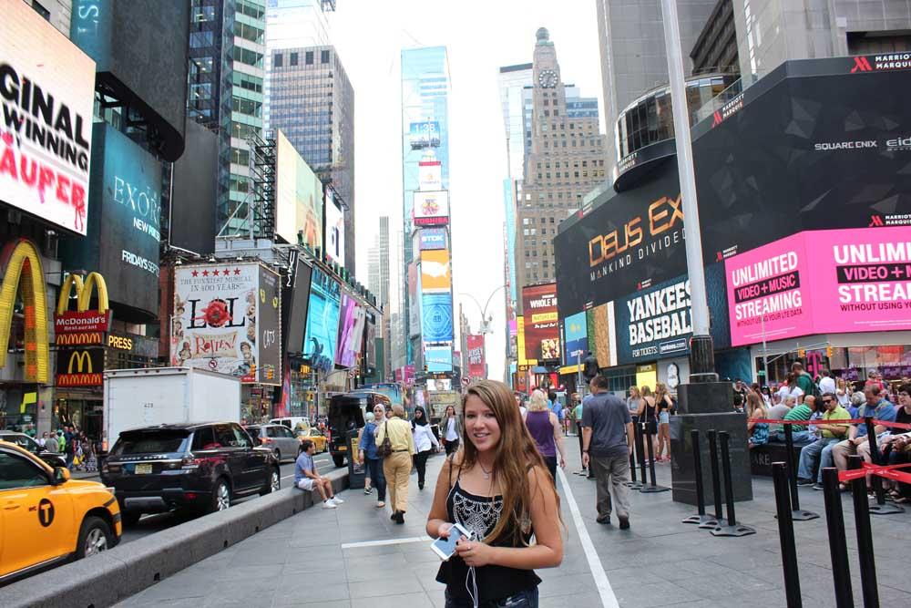 O que fazer em NY: o lado turistão da Times Square também é bacana